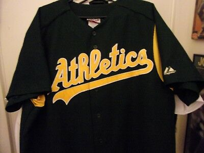 Vintage  Rare  Hard to Find Oakland Athletics # 15 Tim Hudson Baseball Jersey XL