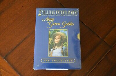 anne of green gables trilogy box set dvd