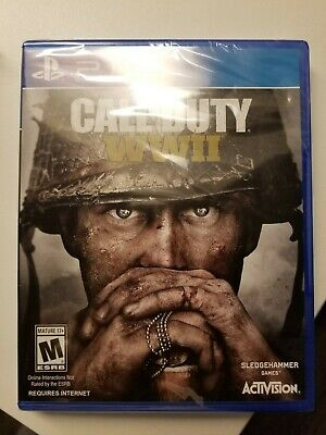 Call of Duty WWII PS4 PlayStation 4  COD World War 2