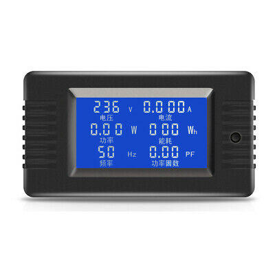 PZEM-020 10 AC Digital Display Power Monitor Meter Voltmeter Ammeter Frequency C