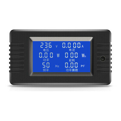 PZEM-018 AC Digital Display Power Monitor Meter Voltmeter Ammeter Frequency  Fac