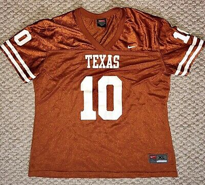 new style 22ea5 55057 NIKE VINCE YOUNG #10 Texas Longhorns Rose Bowl NCAA ...