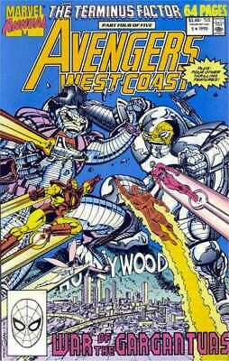 Avengers West Coast Annual #5 in Near Mint condition. Marvel comics [*t2]
