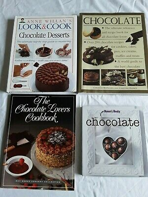 3 Chocolate Cooking Cook Books