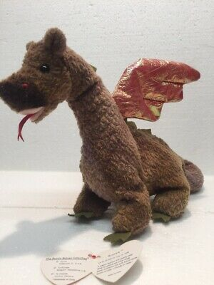9e951559904 Ty Beanie Babies 1998 SCORCH Dragon Rare with Errors