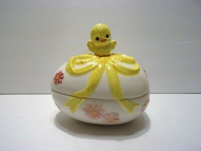 "Vintage ""lefton"" Easter Candy Dish"