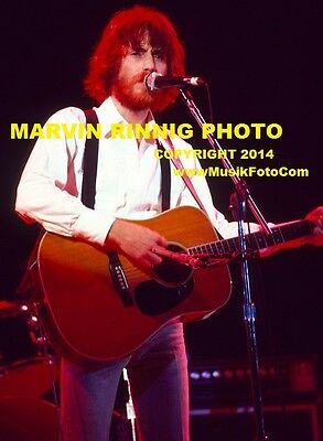 JD SOUTHER PHOTO -THE EAGLES- JOE WALSH & DON FELDER-VERY RARE 8x11 pic 1976
