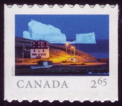 CANADA 2019 From Far and Wide -2, booklet single, $2.65 (Intl) Iceberg Alley MNH