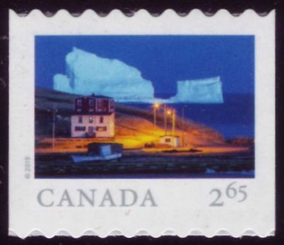 CANADA 2019 From Far and Wide -2, coil single with #, $2.65 Iceberg Alley MNH