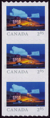 CANADA 2019 From Far and Wide -2, Strip of 3, $2.65 Iceberg Alley, Ferryland MNH
