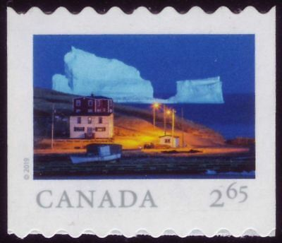CANADA 2019 From Far and Wide -2, coil single $2.65 Iceberg Alley, Ferryland MNH
