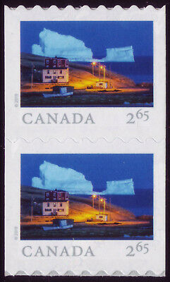 CANADA 2019 From Far and Wide -2, coil pair $2.65 Iceberg Alley, Ferryland MNH