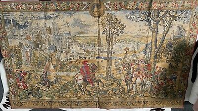 Large Tapestry Wall Hanging   100cm High / 150cm Wide