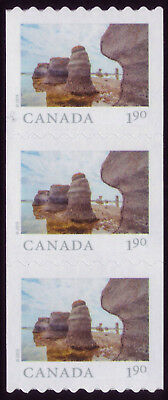 CANADA 2019 'From Far and Wide'-2 Strip of 3 x $1.90 Mingan Archipelago Park MNH