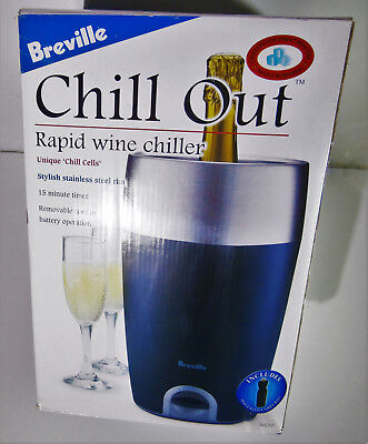 Breville Chill Out Rapid Wine Cooler WC10