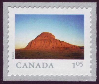 CANADA 2019 From Far and Wide -2, coil Single, $1.05 Big Muddy Badlands MNH