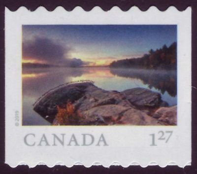 CANADA 2019 From Far and Wide -2, coil Single, $1.27 (USA) Smoke Lake MNH