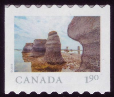 CANADA 2019 'From Far and Wide'-2, coil Single $1.90 Mingan Archipelago Park MNH