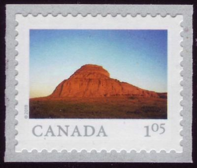 CANADA 2019 From Far and Wide -2, Single with #, $1.05 Big Muddy Badlands MNH