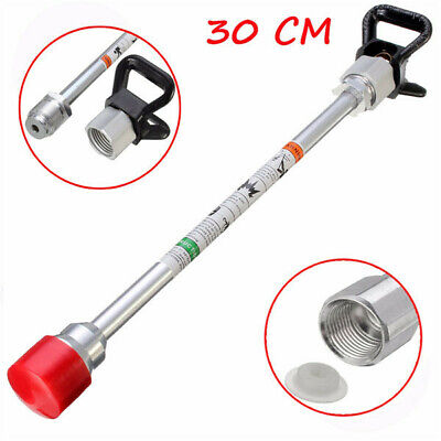 30cm Airless Paint Sprayer Gun Tip Extension Rod For Wagner Titan With Tip Guard