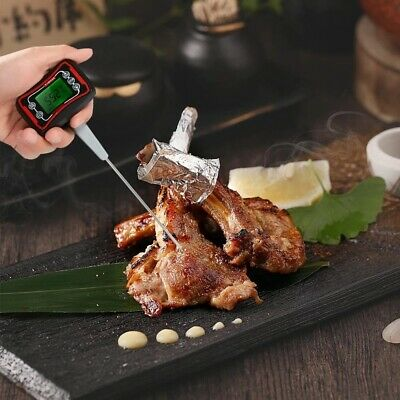 Digital Food BBQ Cooking Thermometer Instant Read Pyrometer Temperature Gauge wi