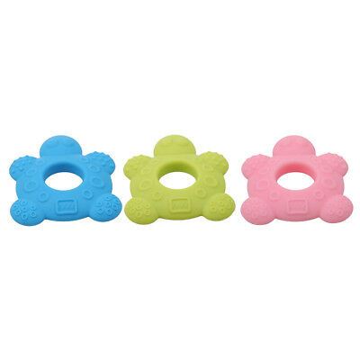 Sea Turtle Silicone Baby Teether Teething Collares Pacifier Chew Toy BPA Free