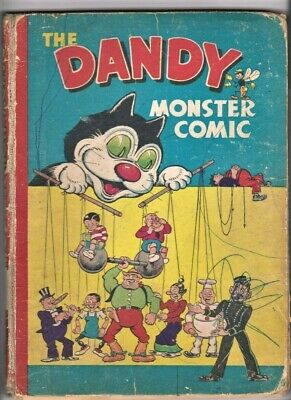 DANDY MONSTER COMIC 1948 Book D.C.Thomson Comic Annual (1947)