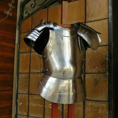 Medieval Breastplate Roman Armor Greek Muscle Costume Cuirass New Jacket Larp