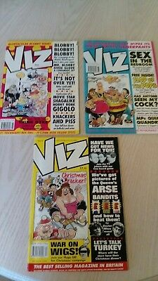 Viz Comic issues 63,64 and 65... 1994.... All three included