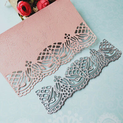 1PC Envelope Lace Edge Metal Cutting Stencil Scrapbooking Album DIY Decor Carft