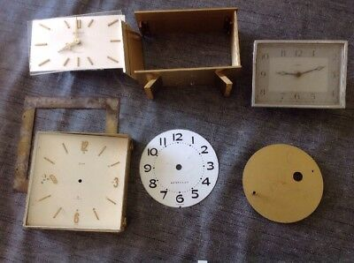 Antique Clock Parts From Clockmakers Spare Parts Collection SWIZA Europa Enfield