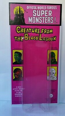 Ahi Azrak Hamway Creature From The Black Lagoon Repro Blister Card Mego Lincoln
