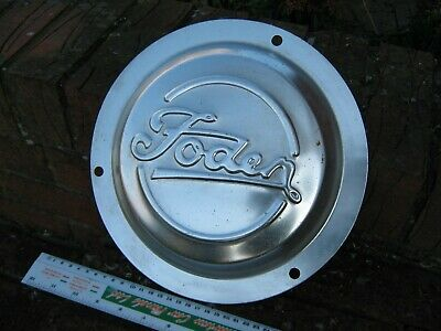 1970's-90's FODEN TRUCK/LORRY CENTRAL WHEEL TRIM/HUB CAP.