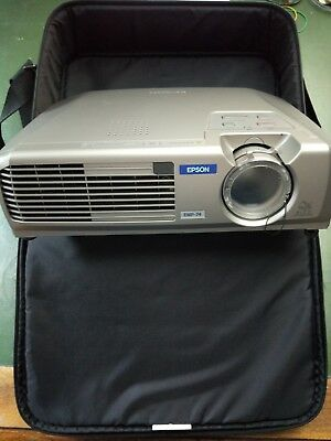 Epson EMP-74 projector - Good condition - Remote - VGA - WORKING