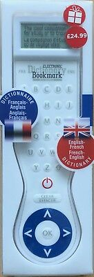 Electronic Dictionary Bookmark French-English-french