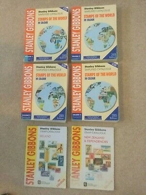 Stanley Gibbons catalogues 2005, plus seperate 1st and 3rd edition.