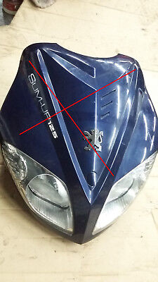 Optique Phare Feu Avant Front Headlight Peugeot Sum Up Sum-Up 125