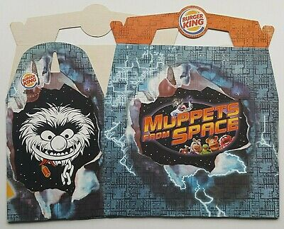 Vintage - Rare - 1999 -  Burger King Uk - Muppets From Space - Kids Meal Box