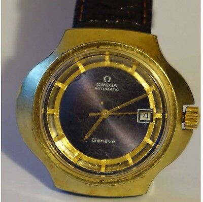Gents Rare Omega Stingray( Cobra) Geneve Watch circa 1970's.used condition