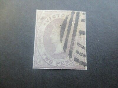 Victoria Stamps: Emblems Imperf Used  (o65)
