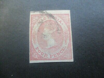 Victoria Stamps: Emblems Imperf Used  (o66)