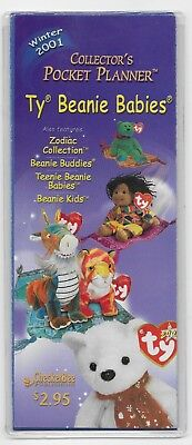 Ty Beanie Babies Collector's Pocket Planner - Winter 2001