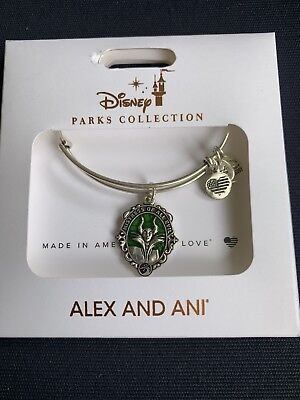 2019 New Disney Parks ALEX AND ANI Maleficent Silver Bangle Bracelet