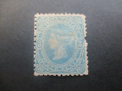 Victoria Stamps: 3d Beaded Ovals Mint with gum - Rare Stamp    (o69)