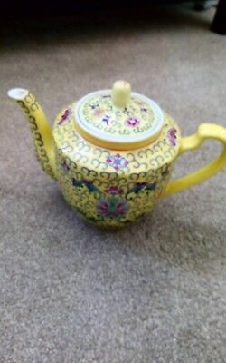 Chinese Teapot Stamped