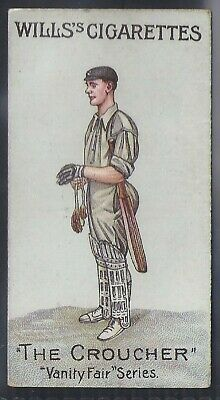 Wills-Vanity Fair (Unnumbered)- Cricket - Mr Gilbert Laird Jessop