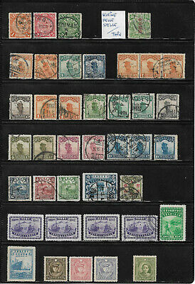 China, Rep., Lot in o/**/*/(*) ca. 1900 - 1948, 2 Scans !