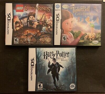 Lot of 3 Nintendo DS Games - Great for Kids!