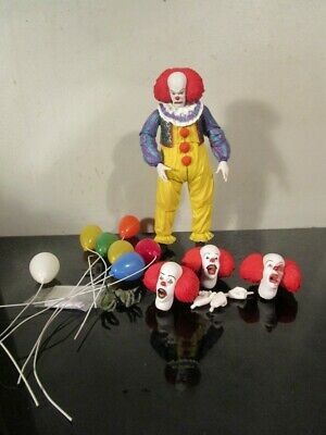 """NECA Ultimate IT 1990 Pennywise the Clown 7"""" Scale Action Figure~"""