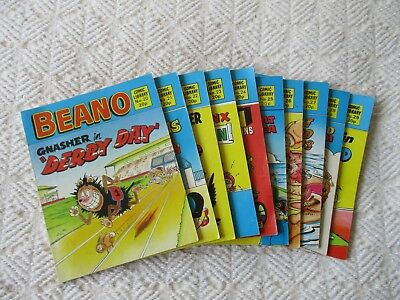 10 Beano comic Library books no 20/29